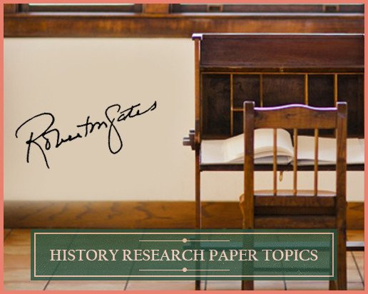 Methods for Selecting History Research Paper Topics