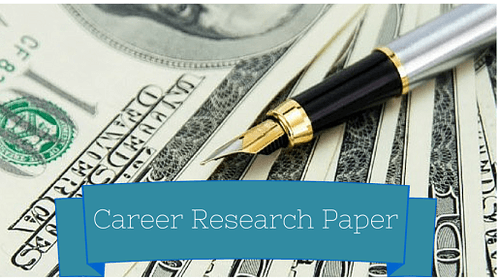 Career Research Paper Essay Prompts and Pointers Read